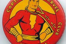 The Mighty Marvels / Images of The World's Mightiest Mortals, Captain Marvel and the Marvel Family.