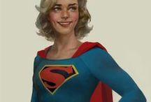 Classic Supergirl / The Classic Original Supergirl...