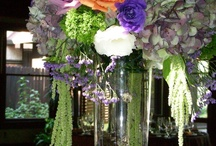 Guest Table Centrepieces / Guest Tables, from simple elegance to tall elaborate designs.