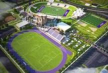 ACU Athletics  / W-i-l-d-c-a-t-s, purple, white, purple, white, fightfightfight! / by Abilene Christian University