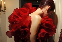 color me red / fashion, beauty, all RED