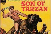 Korak Son of Tarzan / Korak is the ape name of John 'Jack' Clayton, Viscount Greystoke, the son of Tarzan and Jane...Duh.