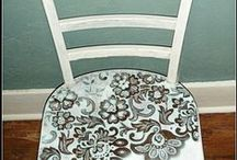ART - UPCYCLING / All kinds of antique and vintage stuff are enhanced by upcycling.