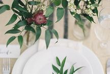 Floral table decoration / by Puur Anders