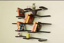 Fleimio Pine Cone / Fleimio's wall shelf in versatile interior designs.