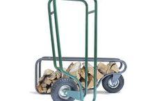 Fleimio Woodhopper / Fleimio Woodhopper - agile firewood conveyor for outdoor duty - in action.