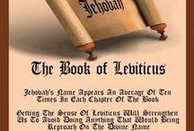 Leviticus / by Jacqueline Rivera Calvillo