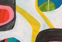 Lisa Congdon Fine Art // Abstract Paintings / Abstract work of Lisa Congdon