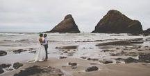 V+ L. West Coast Wedding