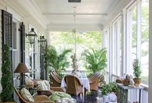 Porches and Planters