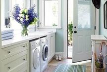 Laundry Room & Bathroom / by Kori Zehr