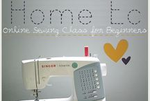 learn how to sew / by Jessica Bonerigo