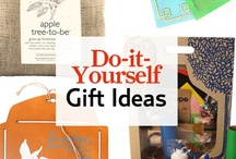 DIY Holiday Gifts / More than just a present, these crafts will pass along the joy that comes from making a one-of-a-kind piece. These craft ideas make perfect holiday presents.
