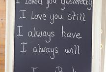 Vow Renewal things :)
