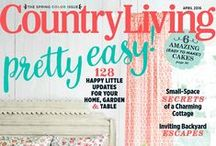 Country Living Covers / Check out the covers from our past issues, and click through for a great subscription offer! / by Country Living Magazine