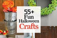 Halloween Crafts & Decorations / Eerily easy Halloweens crafts, decorations, DIY costumes, and more.