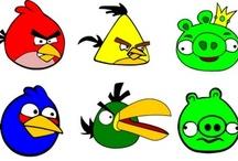 Angry Birds -mérges madaras