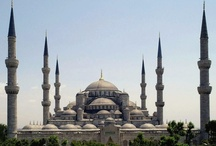 Churches, temples, synagogues and mosques (in no particular order)