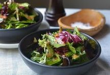 Salads salads, yum yum / Salads for lunch, mains and on the side - making friends with salad