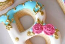 Cookie Cutter Letters & Numbers / Decorated cookies - Number & Letter Cookies