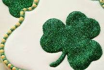 St. Patrick's Day Decorated Cookies / Decorated cookies and cute cookie cutter shapes for St. Patrick's Day.