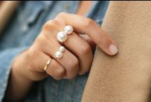 Work Jewelry: Pearls / A collection of pearl jewelry for inspiration / by Heather Auclair
