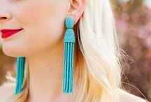 Work Jewelry: Earrings / A collection of earrings to be inspired by / by Heather Auclair