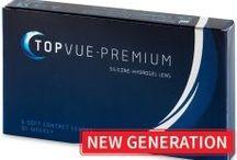 Kontaktní čočky TopVue / Design kontaktních čoček TopVue se vyznačuje velice tenkými okraji, které zvyšují pocit pohodlí při každodenním nošení.