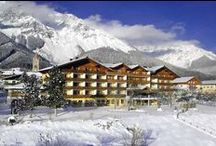 Hotel Matschner, Ramsau - winter holiday on the quiet face of Austria / Beneath the imposing crags of the Dachstein Mountains and glacier, the village of Ramsau Ort nestles on a high plateau in the north-west corner of the unspoiled, traditional region of Steiermark in central Austria. This is ideal terrain for cross-country skiing, with delightful trails for all abilities across the snowy meadows.
