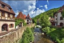 Alsace Discovery -  Cycle and walk through villages, vineyards & forested hills / This sunny corner of eastern France, nestling between the Vosges Mountains and the mighty River Rhine, is known for its picture-postcard villages, great wines and fine gastronomy. Alsace's valleys are dotted with picturesque villages and criss-crossed with country lanes, which makes perfect terrain for your days on two wheels. In fact, it's hard to imagine a more perfect setting for pootling around on a bike.