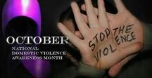 DOMESTIC VIOLENCE / Being aware is important. SPEAKING UP, when you see someone who is in an abusive relationship is important. Being their voice when they can't or are too afraid to MATTERS!!!!!