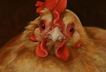 Chickens deserve their own boad / by Cheri Howell