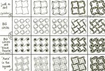 ≈  Zentangle Patterns   ≈ / To inspire... to create  / by Diane Pick-Ross  ∾☮∾