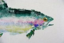 Fish to paint