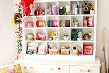Craft room / by Caroline Andreghetto