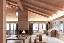 Wood Ceilings / We love wood in all forms!