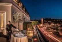 Rooms&Suites / The pleasure of waking up to admire the ruins of Ancient Rome and the unique experience of savouring the delights of Italian cuisine with a breath-taking view - all this is 47Hotel.
