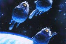 Синие котики Рины Зенюк