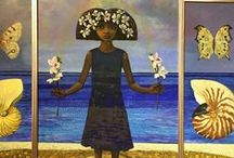 "R. Brent Malone 1941-2004 / Born in Nassau, Bahamas in 1941, He is considered by many to be the ""Father of Bahamian Art."" He was the first Bahamian to receive a distinction in ""A"" level Art. (Cambridge G.C. E.) In Nassau,  studied at Don Russell's Academy of Fine Arts & was and apprentice at the Chelsea Pottery (Nassau Branch). Art schooling in England was at Beckenham School of Art & at Ravensbourne College of Art & Design. As a graduating student, he first exhibited at Oxford College, England."