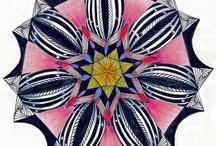 Art / Zentangles and Zentangle Inspired Art