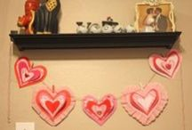 Valentine - Not Stampin' Up! / Cards and Crafty things for Valentine's Day made with products that are not Stampin' Up!