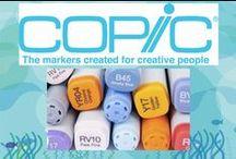 Copic Markers / Tips, trucs, tutorials en weetjes over Copic Markers.