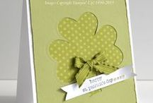 Stampin' Up! St. Patrick's Day Projects / Ideas for St. Patrick's Day made by others and myself. Projects are made with Stampin' Up! products. / by Lisa Young - Stampin' Up!