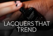 lacquers that trend / butter LONDON products are formulated without the use of the harmful ingredients like Formaldehyde, Toluene, DBP or Parabens.    / by butter LONDON