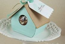 Packaging / Creative ways to package a gift.  / by Lisa Young - Stampin' Up!