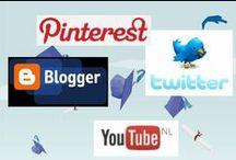 Social Media / Tips, technische uitleg en meer voor de verschillende social media's: twitter, blogger, you tube, en natuurlijk pinterest.