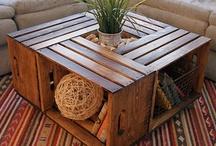 Recycled wood etc / rebuilds  / by Majenta Nicholls