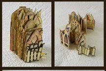 Speciale kaarten / Kaarten die je niet vaak ziet door de vorm of gebruik van hobbymaterialen.