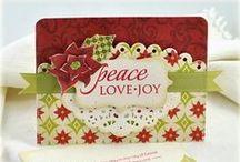 Kerstkaarten / Ter inspiratie voor de kerst, kerstkaarten, kaarten en nog eens kaarten.