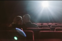 Cinema, Movies, Theatre Engagement Shoot / Engagement / pre wedding shoot ideas in a cinema